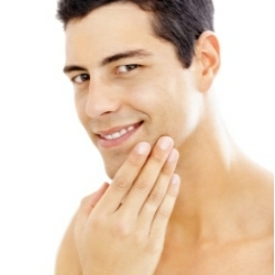 Best skin care products men - a guy after a good shave